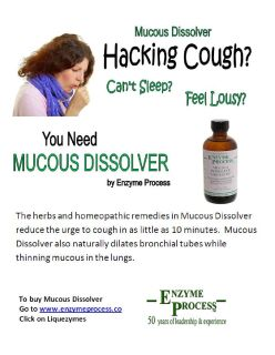 Mucous Dissolver Liquid Supplement