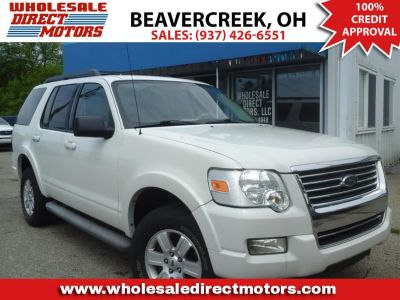 2010 Ford Explorer XLT (Oxford White)