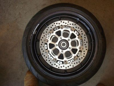Find 2005 05 Ducati 999 Front Rim Rotors Tire motorcycle in Henrico, Virginia, US, for US $450.00