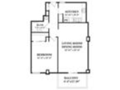 Luxury Living at The Longwood (One BR/One BA)