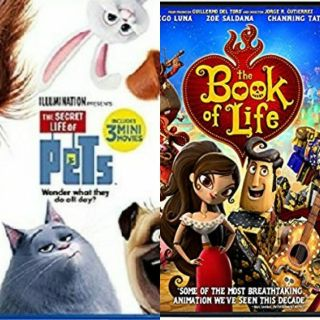 The Secret Life of pets and the Book of Life DVD combo