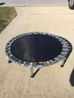 """Personal 36"""" foldable trampoline, barely used"""