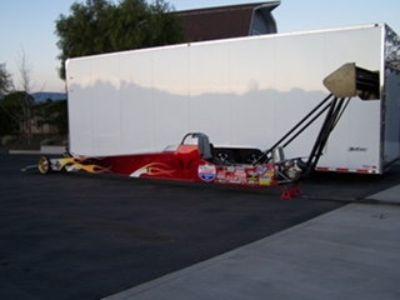 McKinney A-fuel car