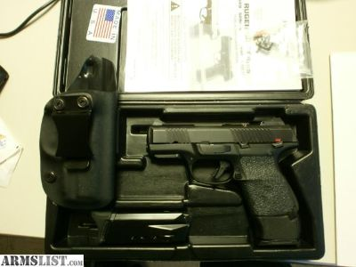 For Sale/Trade: Ruger SR40c w/extras
