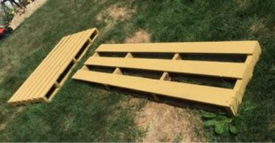 Painted Wood Pallets