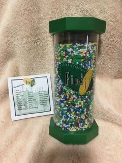 """""""The Wonderful Wizard of Oz"""" - Find It Game & Instruction Cards RareShake, Turn, Twist & Search for the Items Hid in the Colorful Beads!"""