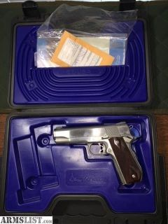 For Sale: Dan Wesson CBOB Stainlesss Classic Bobtail