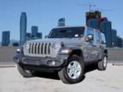 Used 2019 Jeep Wrangler Unlimited Sting-Gray Clearcoat, 12 miles