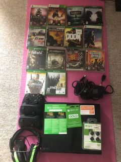 Xbox one, games, live, headphone, controllers