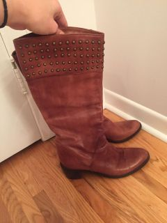 Brown boots Made in Italy