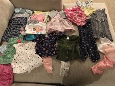 3 month spring and Summer baby girl clothes