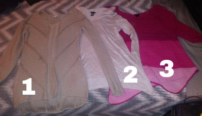 Sweaters & long sleeves 7 a piece