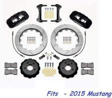 "Sell Wilwood AERO6 Front Big Brake Kit Fits 2015 Ford Mustang,15"" Rotors - With Lines motorcycle in Camarillo, California, United States, for US $2,044.00"