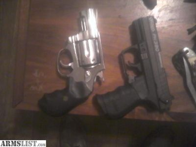 For Trade: Rossi .357 snub and Walther pk380 for trade