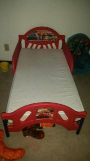 Cars toddler bed (without mattress)