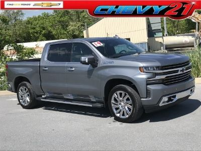 2019 Chevrolet Silverado 1500 High Country (Satin Steel Metallic)