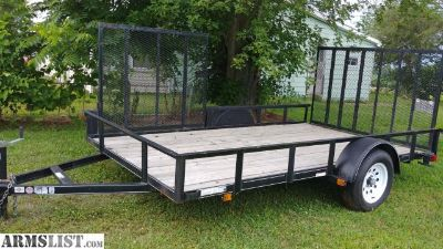 For Sale/Trade: 2015 7x12 utility trailer