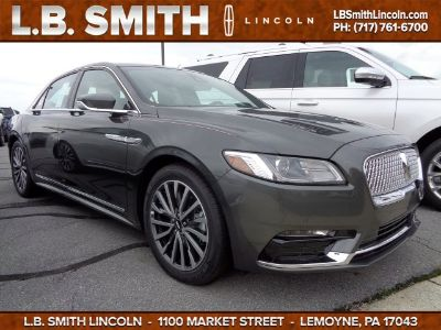 2018 Lincoln Continental Select (Magnetic Gray Metallic)