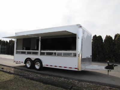 2019 Alumi Tech Custom Vending, Souvenir, Marketing Trailer