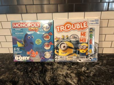 Monopoly Junior and Trouble