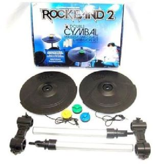 "Brand New Rock Band 2 ""Double Cymbal Expansion Kit"