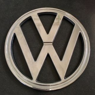 VW-Bay Window Bus-Front Chrome Emblem-7""