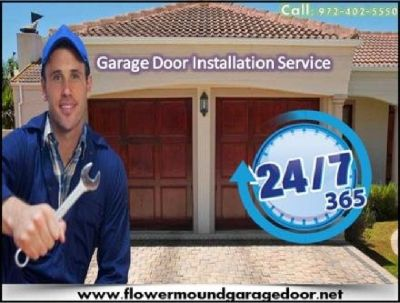 Immediately Response on New Garage Door Installation ($25.95) Flower Mound Dallas, 75022 TX