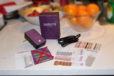 Jamberry Set incl. Heater * several sets of nail designs