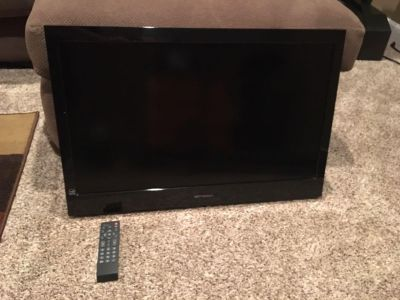 32 Emerson LCD Flat Screen TV with Remote Control