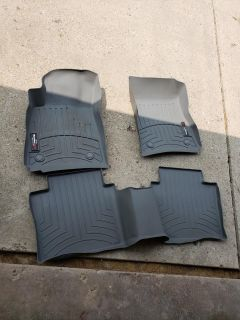 Weather tech floor mats- Chevy impala late 2013 to current