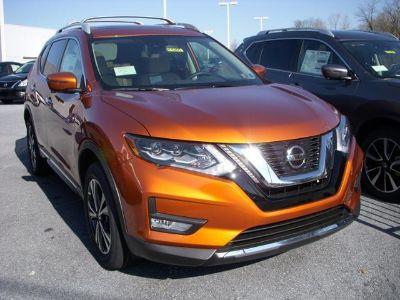 2018 Nissan Rogue S (Monarch Orange)