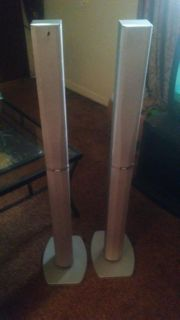 Set of Tower Surround Sound Speakers by JVC