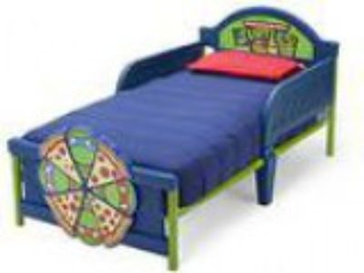 Delta Children D-Footboard Toddler Bed Nickelodeon Ninja Turtle