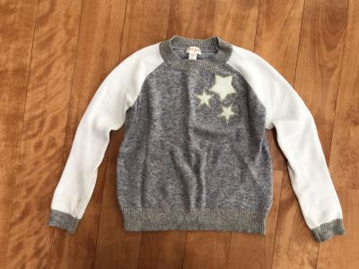 Cat and Jack beautiful soft cozy sweater in girls size 7/8