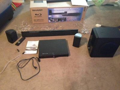 Amazing Home Theater and Blu-RayDVD Player 5.1