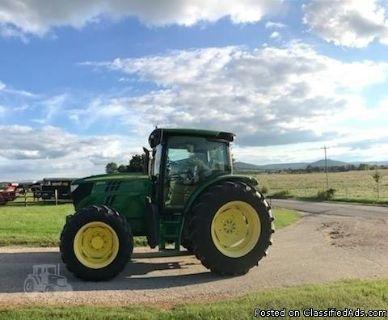 2012 John Deere 6125R Tractor