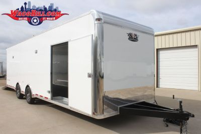 USED 28' Vintage Pro Stock Race Trailer Wacobill.com