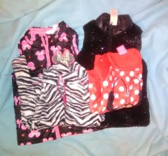 Toddler girls vest and sweater