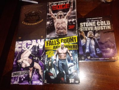WWE DVD 3 DISC COLLECTIONS