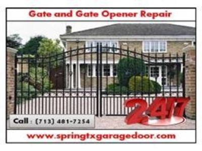 Local Garage Door Gate Repair $25.95 Spring | TX