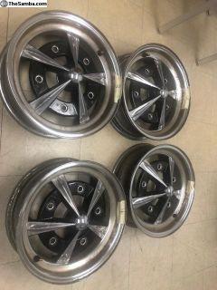 """4 Empi Rader Wheels 15""""x5"""""""