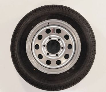 Find Goodyear Marathon Trailer Tire ST235/80R16 Load E 6 Lug Silver Grey Modular Rim motorcycle in Naples, Florida, United States, for US $208.95