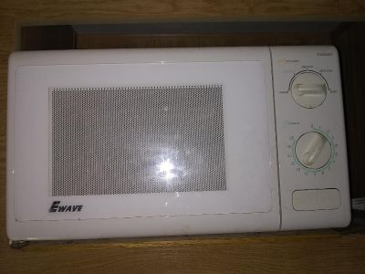 E-wave microwave works great