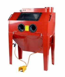 Buy Steel Brass Constructed 110 Gallon Sandblast Cabinet w/ Built in Dust Collector motorcycle in Erie, Michigan, US, for US $999.99