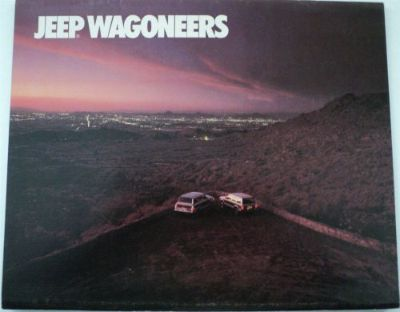 Purchase 1987 Jeep Wagoneer and Limited and Grand Original Dealer Sales Brochure 4X4 87 motorcycle in Holts Summit, Missouri, United States, for US $18.68