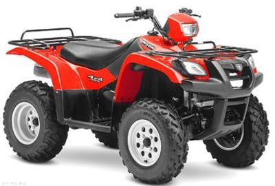 2004 Suzuki Vinson Auto 500 4x4 (LT-A500F) Utility ATVs Johnson City, TN