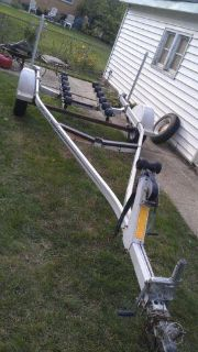 Find Boat trailer 14-17' 1988 shorelander motorcycle in Des Plaines, Illinois, US, for US $325.00