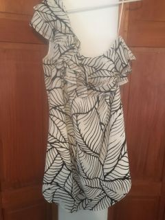 NWT apt9 dress off the one shoulder