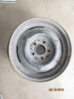 bay window bus steel wheel J8