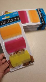 Flea combs lots available .50 each